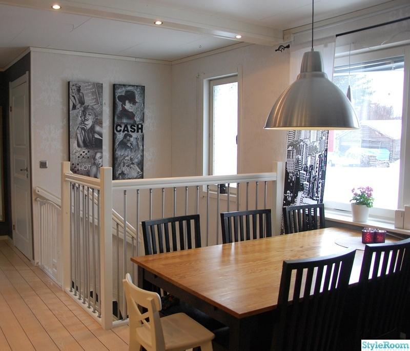 svart köksbord : köksbord i svart ek