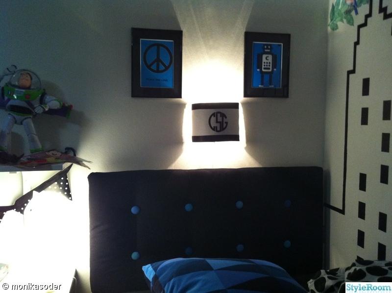 Bild på sänggavel Barnrum stora killen av mondan