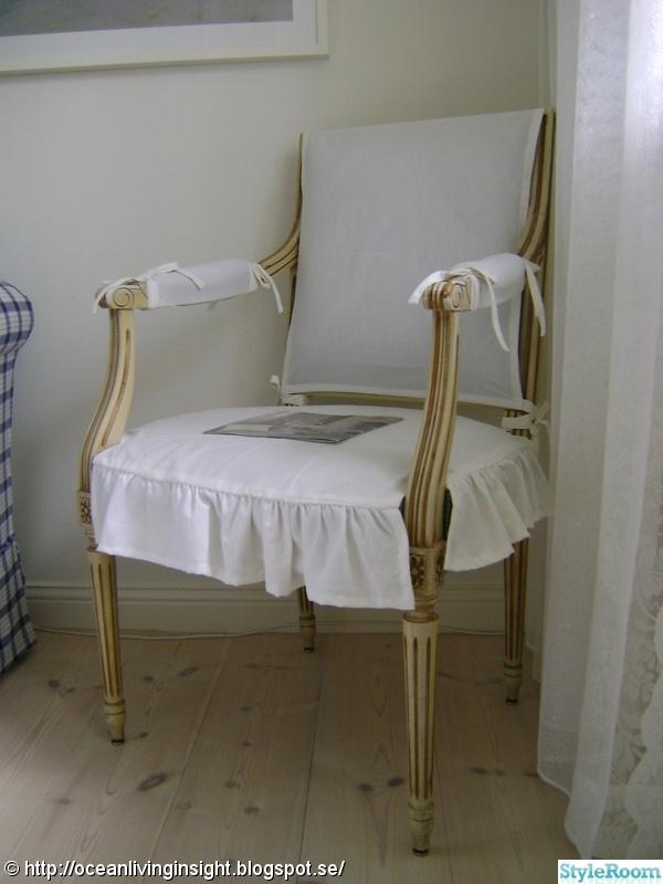 stol,antik,klä om