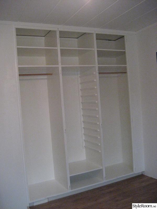 måla,garderober