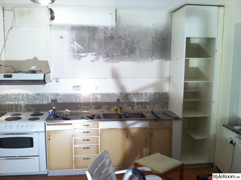 Totalrenovering lägenhet (2a, 56kvm), kök, vardagsrum, sovrum ...