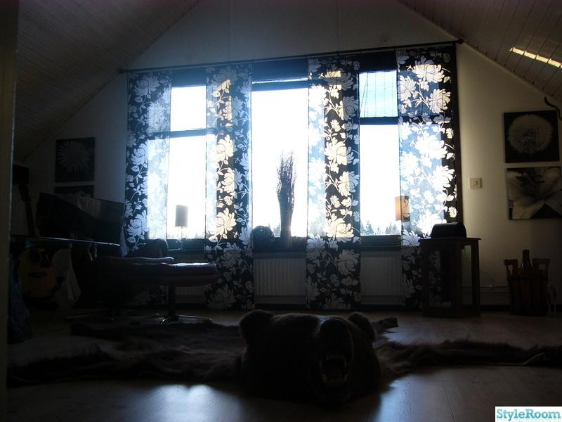 vardagsrum,björnskinn