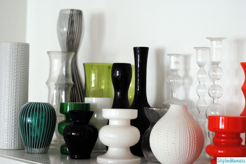 retro,vaser,samling