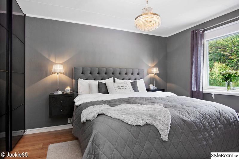 sovrum,grått