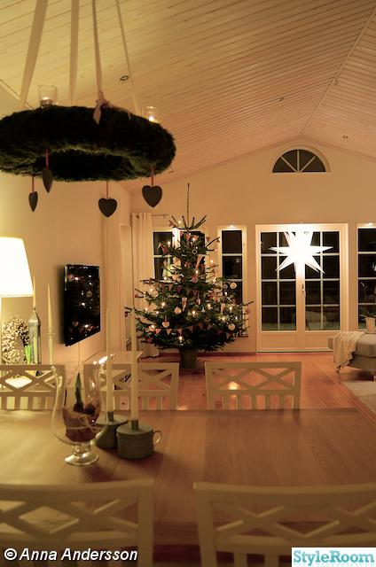 julgran,jul,advent,vardagsrum,lantligt