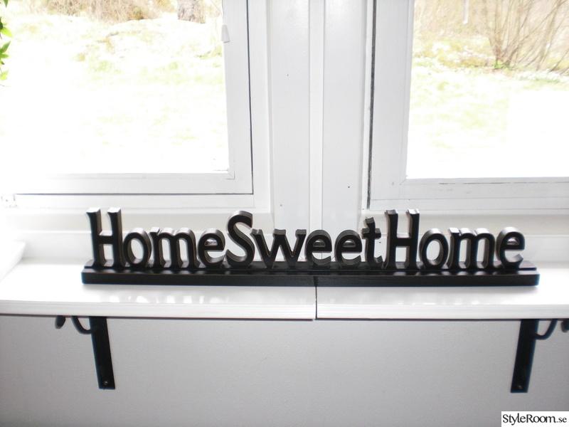 Bild på homesweethome skylt - Övervåningen, vardagsrum och ...