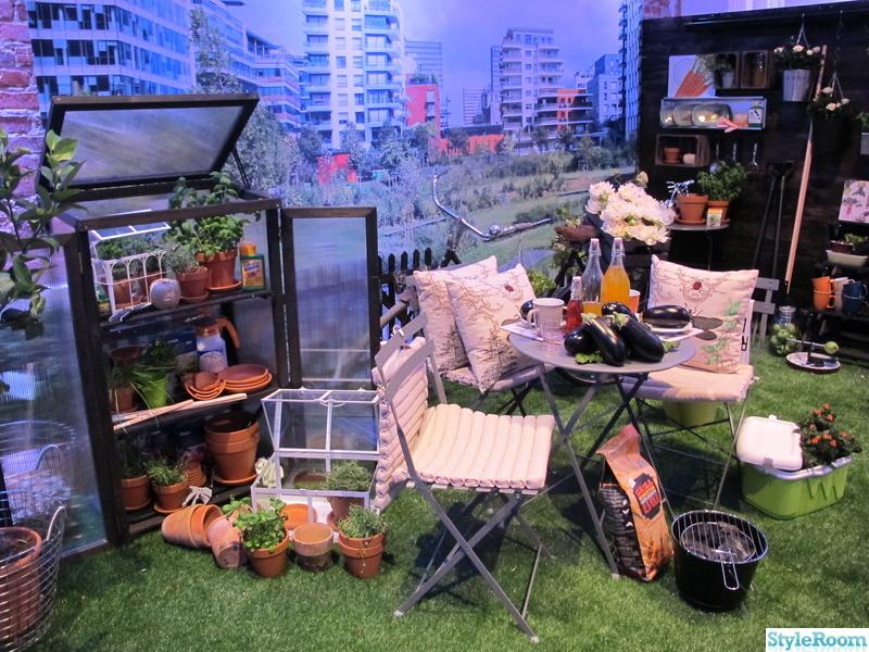 växter,utemöbler,drivhus