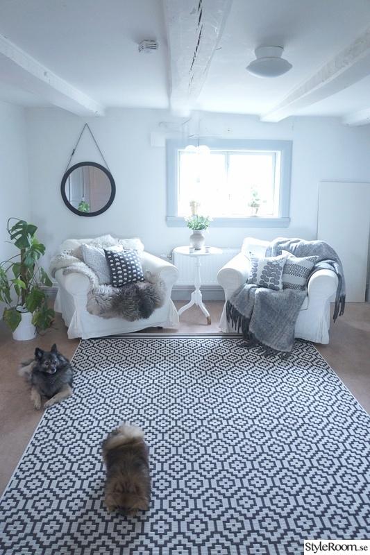 Bild på matta Mitt hem av mirellestoor