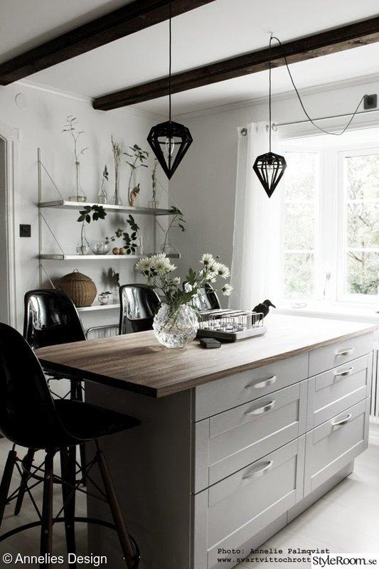 Kok Tegelvagg : kok med tegelvogg  Kokso Industri Mossing tegelvogg koksdesign
