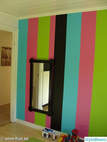 väggmålning,randig vägg,spegel,lime,turkos