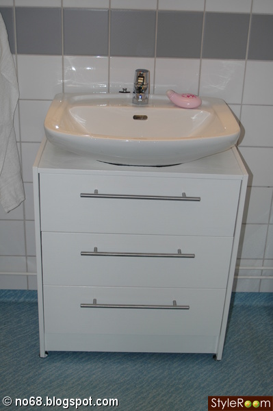 tvättställsskåp utan handfat