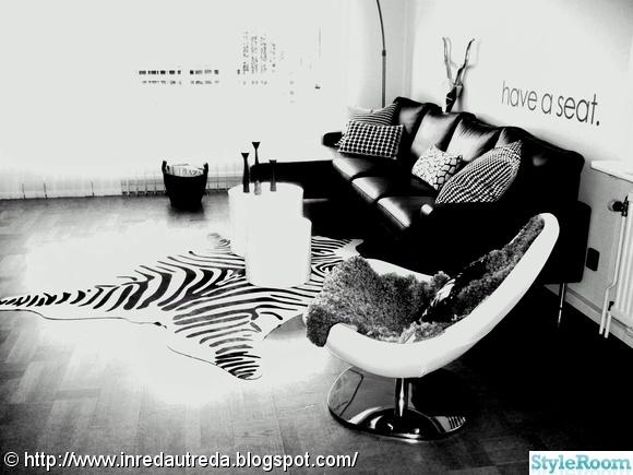 Skinnsoffa zebra fåtölj ikea ilva tjurhuvud väggdekoration Inspiration och idéer till ditt hem