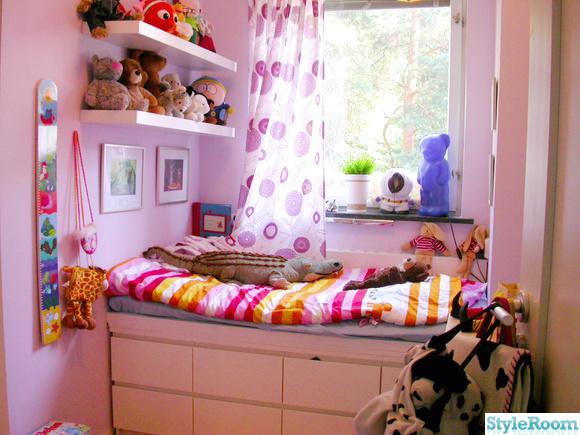 compact living,barnsäng,barnrum,rosa,lila