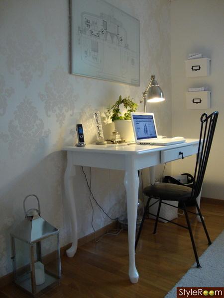 lantlig stil,skrivbord