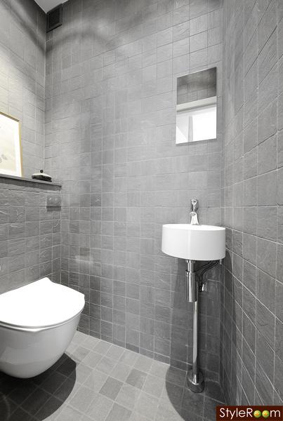 badrum,blandare,modernt badrum,grått kakel,badrumsinspiration