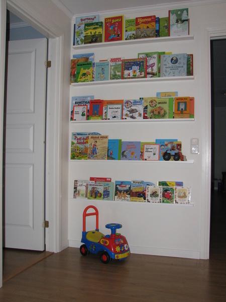 Bokhylla barnrum Inspiration och idéer till ditt hem