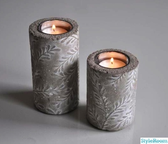ljus,mönster,gjuta,betong,pyssel