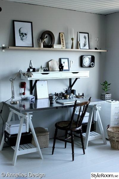 Kok Gratt Och Vitt : arbetsrum i grott och vitt,renoverat arbetsrum,bilder fore och efter