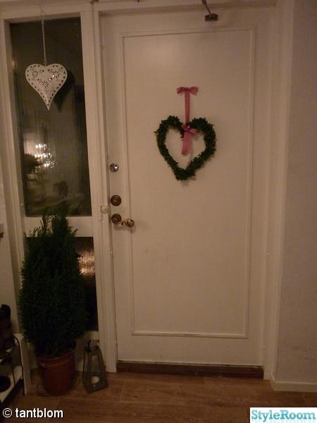 Inspirerande bilder på dörr hjärta