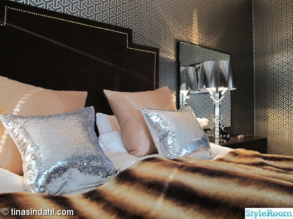 sänggavel,kartell,bourgie,lampa,krom