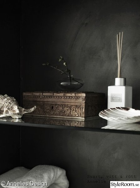 detaljer,badrum,träskrin,snäckor,doftpinnar