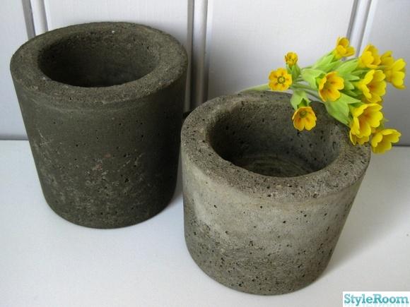 göra egna betongformar