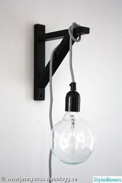 glödlampa,lampsladd,lampa,pyssel,stor glödlampa