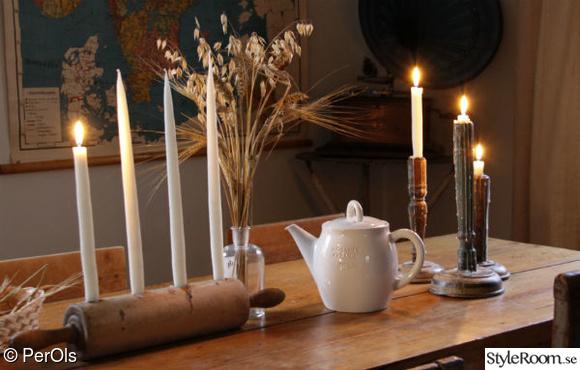 advent,ljus,bord,allmoge,lantligt