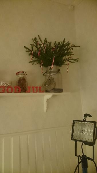 julgransris,granris,polkagriskäppar,jul,julpynt