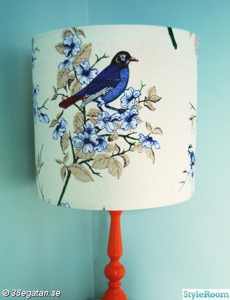 Bild på bordslampa - Diy-lampskärm, stol, byrå, bricka av alea