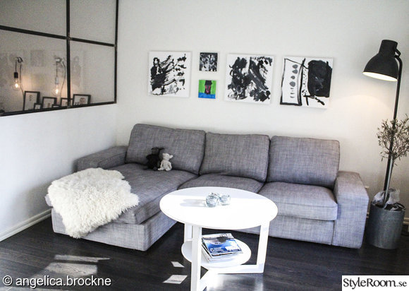 tv,tvmöbel,soffbord,soffa,grå