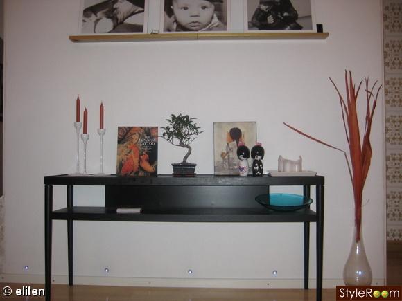 bonsaiträd,sideboard,japanskt