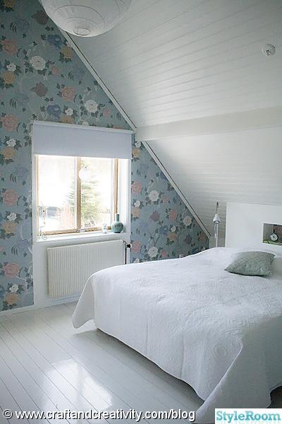 Sovrum med snedtak En klippbok om inredning