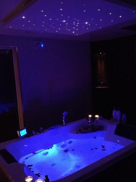 spa,stjärnhimmel,lampa,badrum
