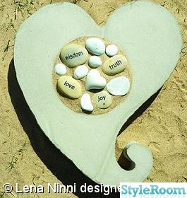 betong,hjärta,kärlek