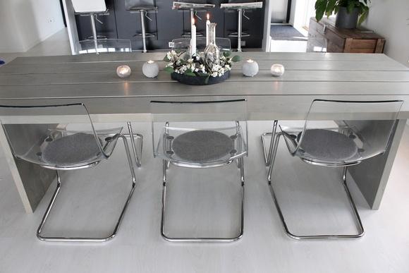 kartell,ghost,stol,transparent stol,genomskinlig