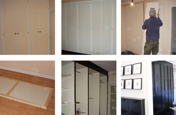 klädförvaring,garderober,garderobsdörrar,skåpdörrar,sovrum
