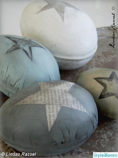 påskpyssel,ägg,påskägg,påskpynt,kreativt