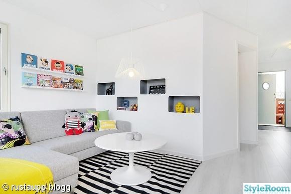 kubhylla,vardagsrum,compact living,rand,grafiskt