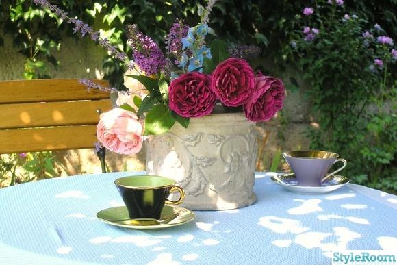 dukning,blommor