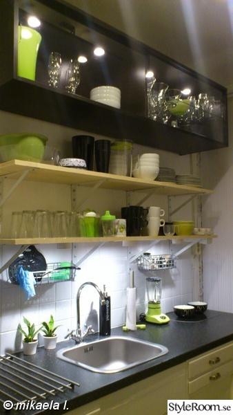 kök,renovering,köksrenovering,efter,öppna hyllor