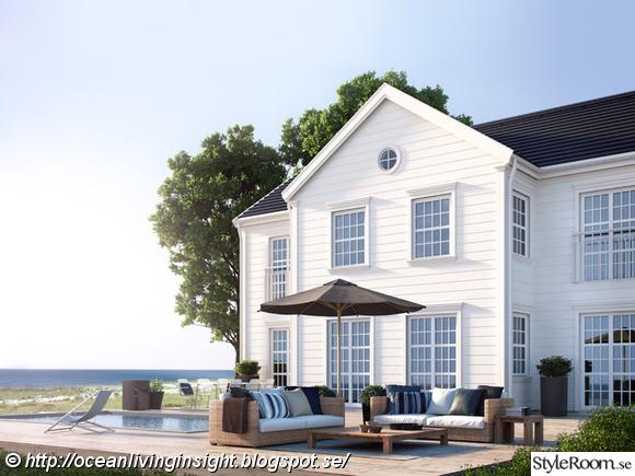 Hus i New England-stil från Myresjöhus