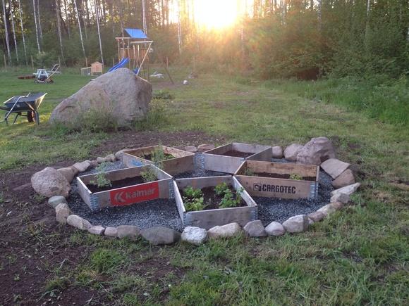 köksträdgård,kryddträdgård,trädgård