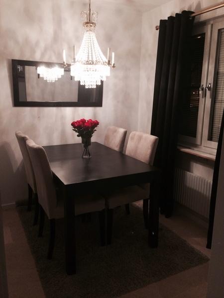 lyx,kök,matplats,stolar,bord