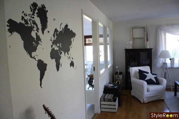 dekoration,väggdesign,hemtrevligt,väggmålning,vardagsrum