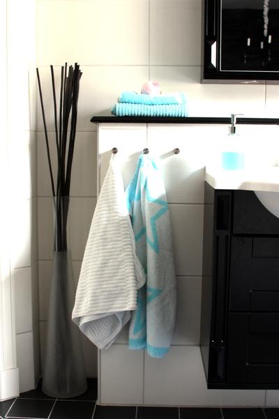 Inspirerande bilder på handduk