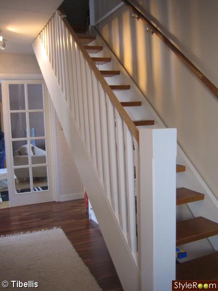 trappräcke på gång