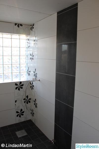 Badrum Svart Och Vitt Kakel ~ Svart och vitt badrum