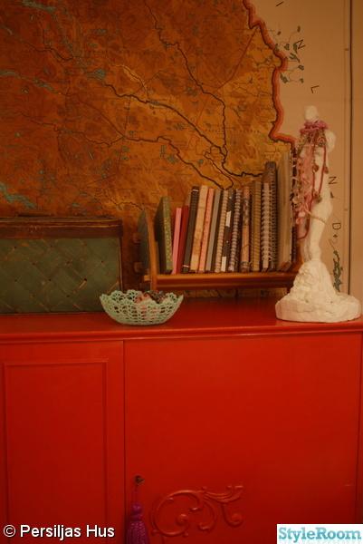 Sovrum staty skåp rött karta Inspiration och idéer till ditt hem