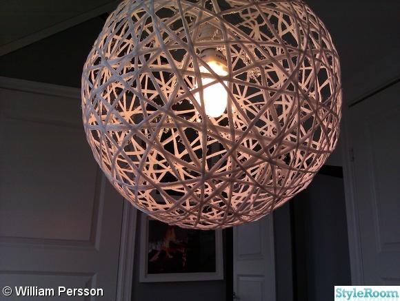 Gör det själv Ballonglampan StyleRooms inredningsblogg